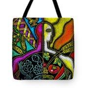 Health Food Tote Bag by Leon Zernitsky