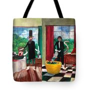 Healthcare Then And Now Tote Bag