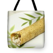 Healthy Burrito On A Plate Tote Bag