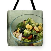 Healthy Mixed Salad Tote Bag
