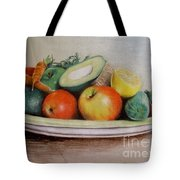Healthy Plate Tote Bag