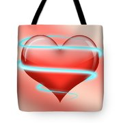 Hearbeat 1 Tote Bag