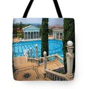 Hearst Castle Neptune Pool Tote Bag