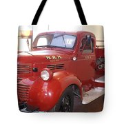 Hearst Fire Truck Tote Bag