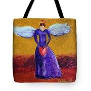 Heart Angel Tote Bag