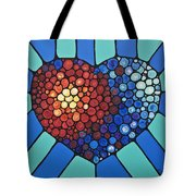 Heart Art - Love Conquers All 2  Tote Bag