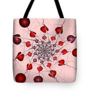 Heart Catcher Tote Bag
