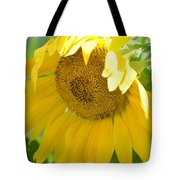 Heart Full Of Gold Tote Bag