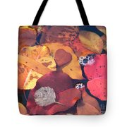 Heart Leaves Tote Bag