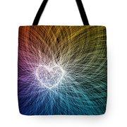 Heart Light Tote Bag