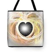 Heart N Soul Fractal Tote Bag