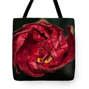 Heart Of A Hibiscus 2 Tote Bag