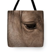 Heart Of A Horse Tote Bag