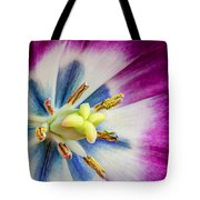 Heart Of A Tulip Tote Bag