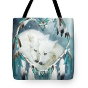 Heart Of A Wolf Tote Bag