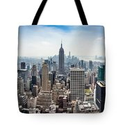 Heart Of An Empire Tote Bag
