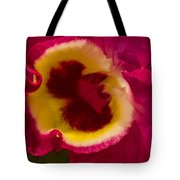 Heart Of An Orchid Tote Bag
