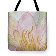 Heart Of Aqualily Tote Bag