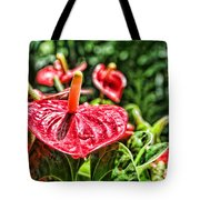 Heart Of Hawaii By Diana Sainz Tote Bag