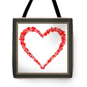 Heart Of Hearts II... Tote Bag