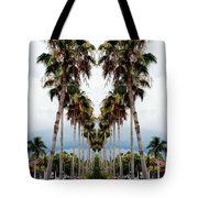 Heart Of Palms Tote Bag