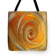Heart Of The Matter Impasto Tote Bag