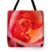 Heart Of The Rose #1 Tote Bag