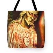 Heart Of The Savior Tote Bag