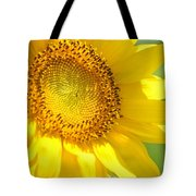 Heart Of The Sunflower Tote Bag