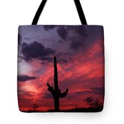 Heart Of The Sunset Tote Bag