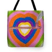 Heart Pipe Tote Bag