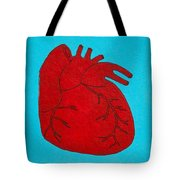 Heart Red Tote Bag