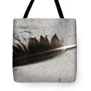 Heart Rock And Feather Tote Bag