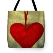 Heart Shape Tote Bag