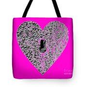 Heart Shaped Lock - Pink Tote Bag