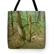 Heart Shaped Roots Tote Bag
