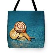 Heart Snails Tote Bag