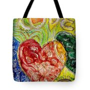 Heart To Heart G Tote Bag
