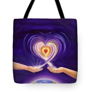 Heart Unity Tote Bag