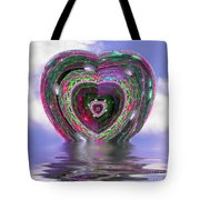 Heart Up Tote Bag