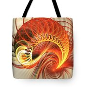 Heart Wave Tote Bag