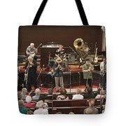 Heartbeat Dixieland Jazz Band Tote Bag