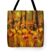 Heartbeat Of Autumn Tote Bag
