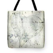 Hearts 13 Square Tote Bag