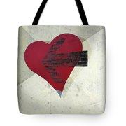 Hearts 7 Square Tote Bag