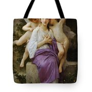 Heart's Awskening Tote Bag