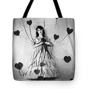 Hearts With Strings Attached Tote Bag