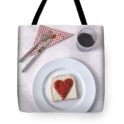 Hearty Toast Tote Bag by Joana Kruse