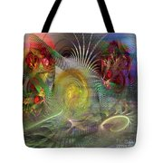 Heat Wave - Square Version Tote Bag