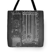 Heater Patent Tote Bag